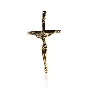 Pendentif Christ Plaqué Or