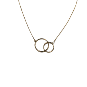 Collier Plaqué-Or Double Rond