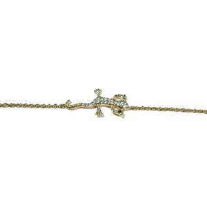 Bracelet Plaqué-Or Salamandre