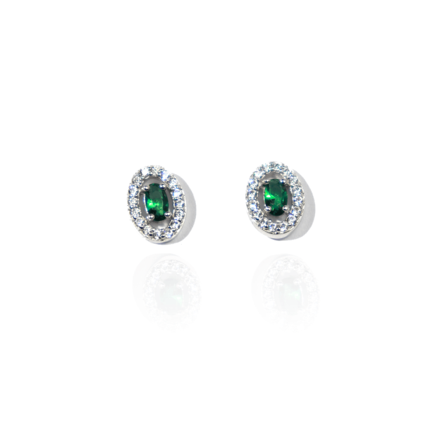 boucles d'oreilles juliette vert