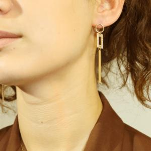 Boucle d'oreilles Plaqué-Or Annabella
